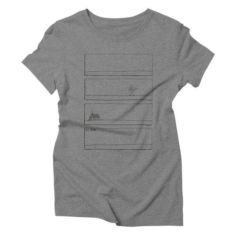 Eelman Chronicles - The Fens Women's T-Shirt by EelmanChronicles's Artist Shop