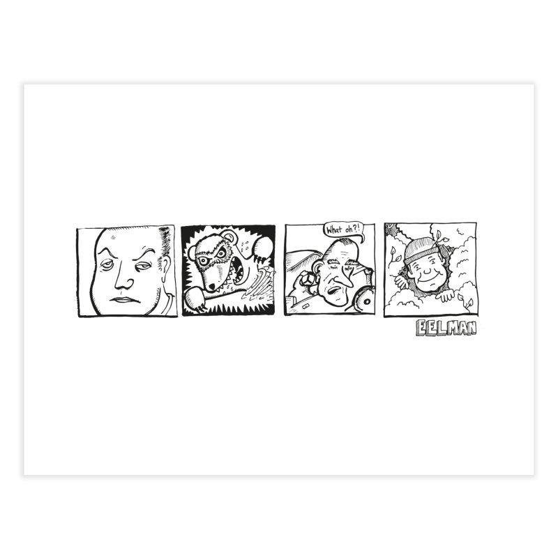 Eelman Chronicles - Character lineup Home Fine Art Print by EelmanChronicles's Artist Shop
