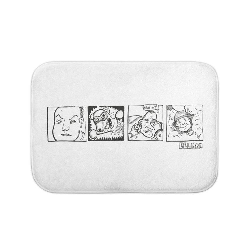 Eelman Chronicles - Character lineup Home Bath Mat by EelmanChronicles's Artist Shop