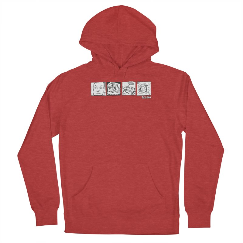 Eelman Chronicles - Character lineup Men's French Terry Pullover Hoody by EelmanChronicles's Artist Shop