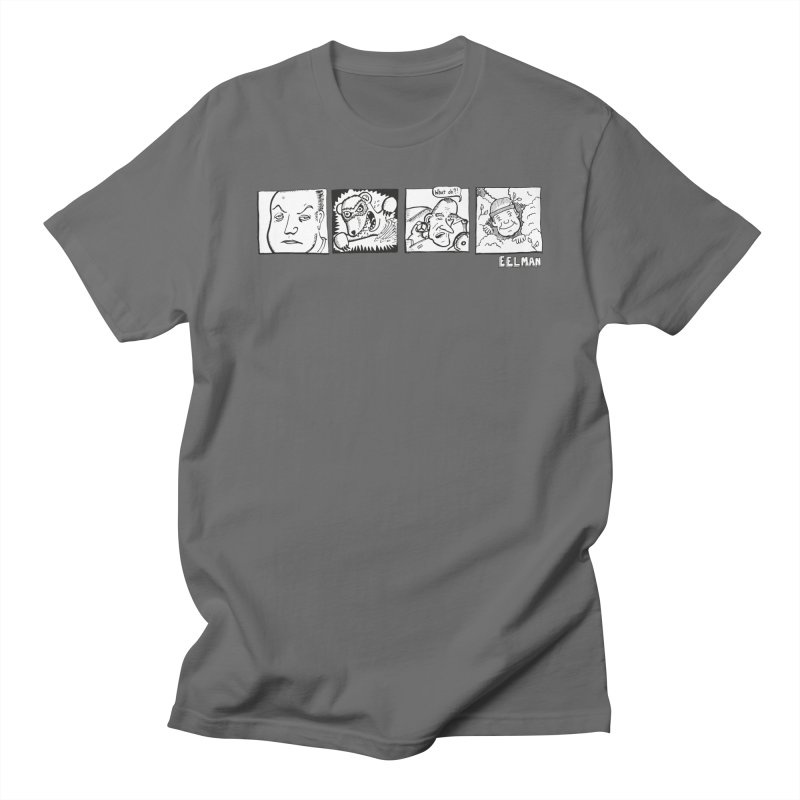 Eelman Chronicles - Character lineup Men's T-Shirt by EelmanChronicles's Artist Shop