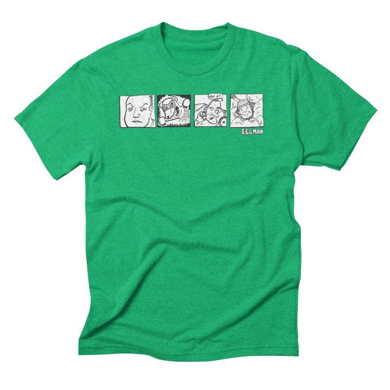 Eelman Chronicles - Character lineup Men's Triblend T-Shirt by EelmanChronicles's Artist Shop