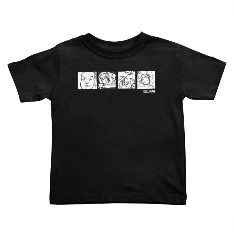 Eelman Chronicles - Character lineup Kids Toddler T-Shirt by EelmanChronicles's Artist Shop