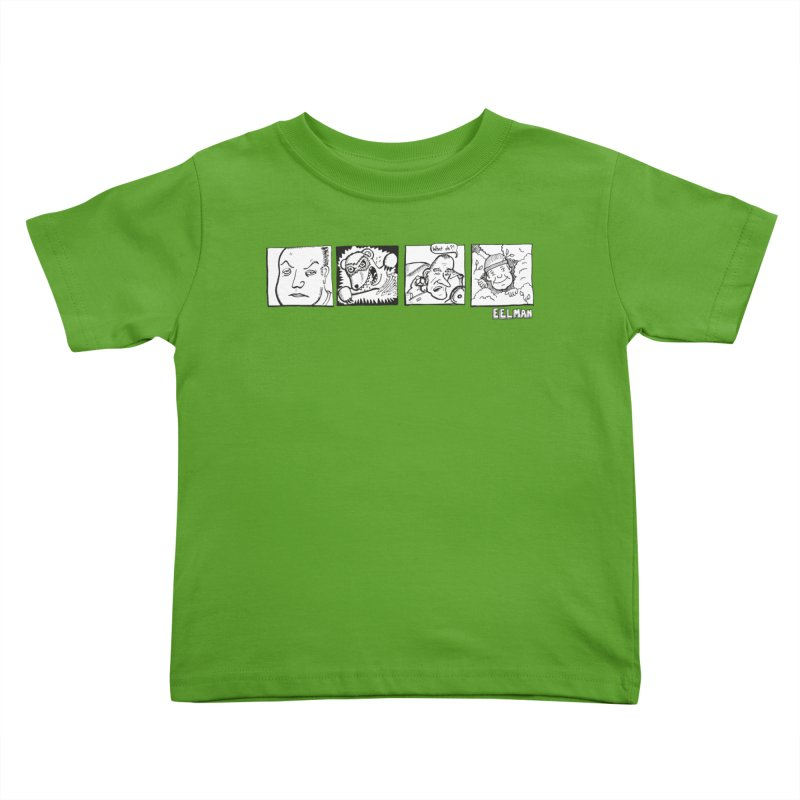 Eelman Chronicles - Character lineup Kids Toddler T-Shirt by EelmanChronicles's Artist Shop