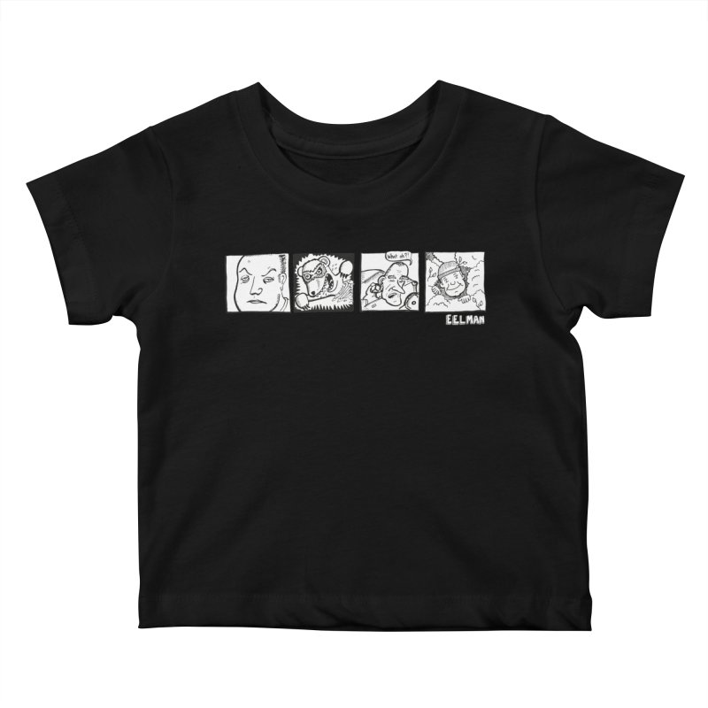 Eelman Chronicles - Character lineup Kids Baby T-Shirt by EelmanChronicles's Artist Shop
