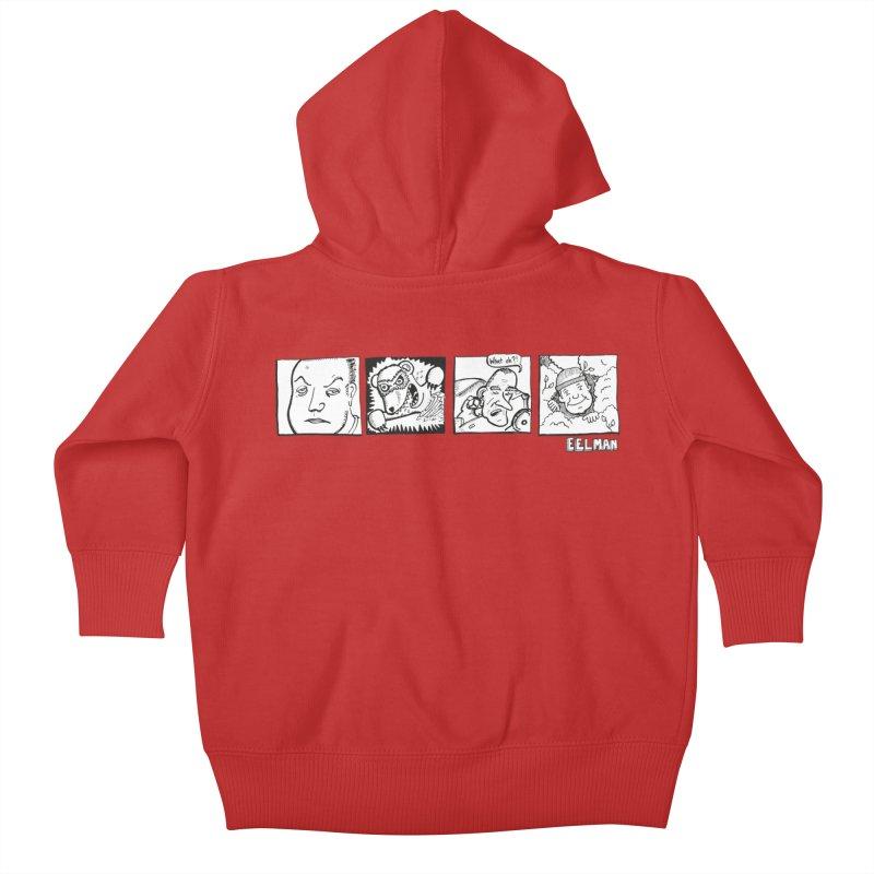 Eelman Chronicles - Character lineup Kids Baby Zip-Up Hoody by EelmanChronicles's Artist Shop