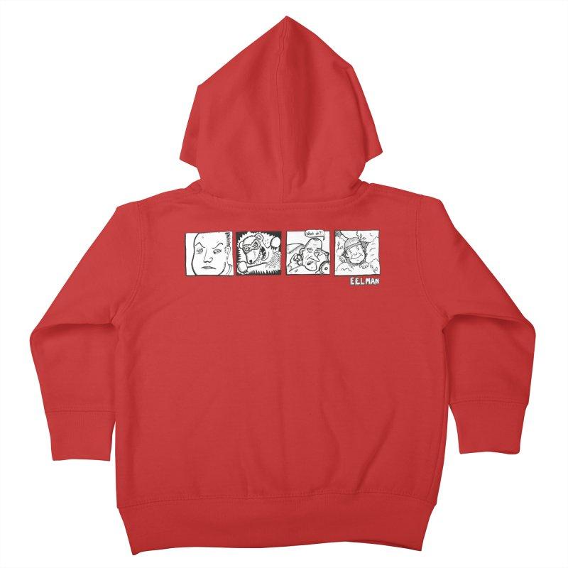 Eelman Chronicles - Character lineup Kids Toddler Zip-Up Hoody by EelmanChronicles's Artist Shop