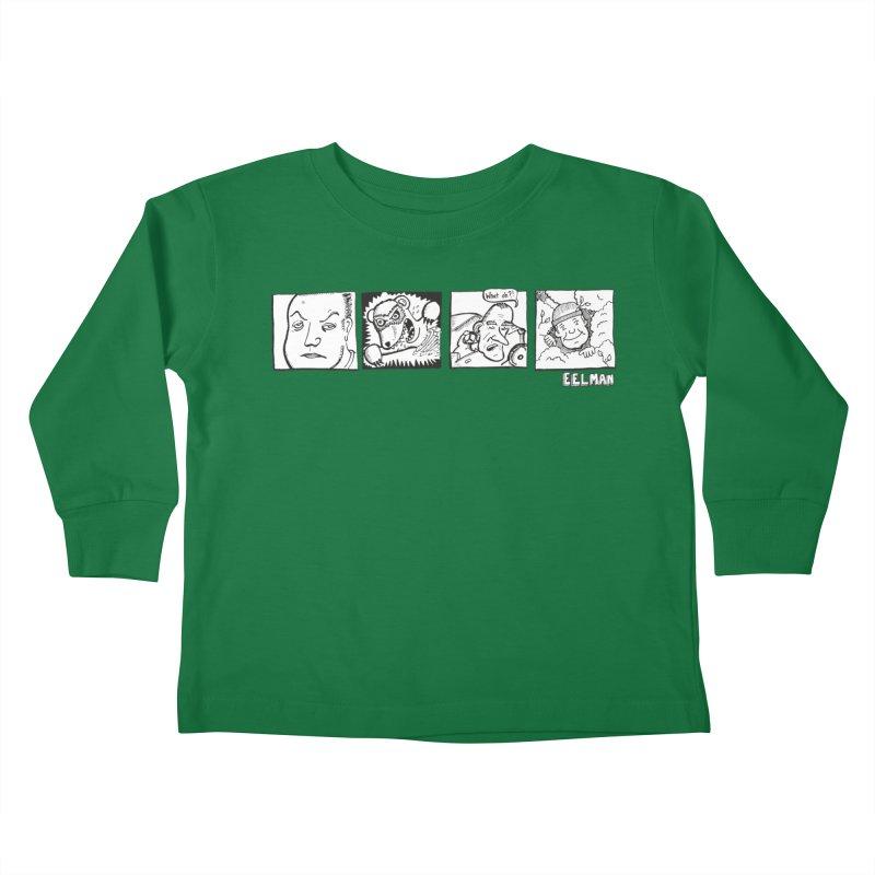 Eelman Chronicles - Character lineup Kids Toddler Longsleeve T-Shirt by EelmanChronicles's Artist Shop