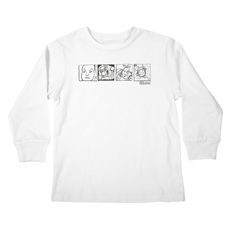 Eelman Chronicles - Character lineup Kids Longsleeve T-Shirt by EelmanChronicles's Artist Shop