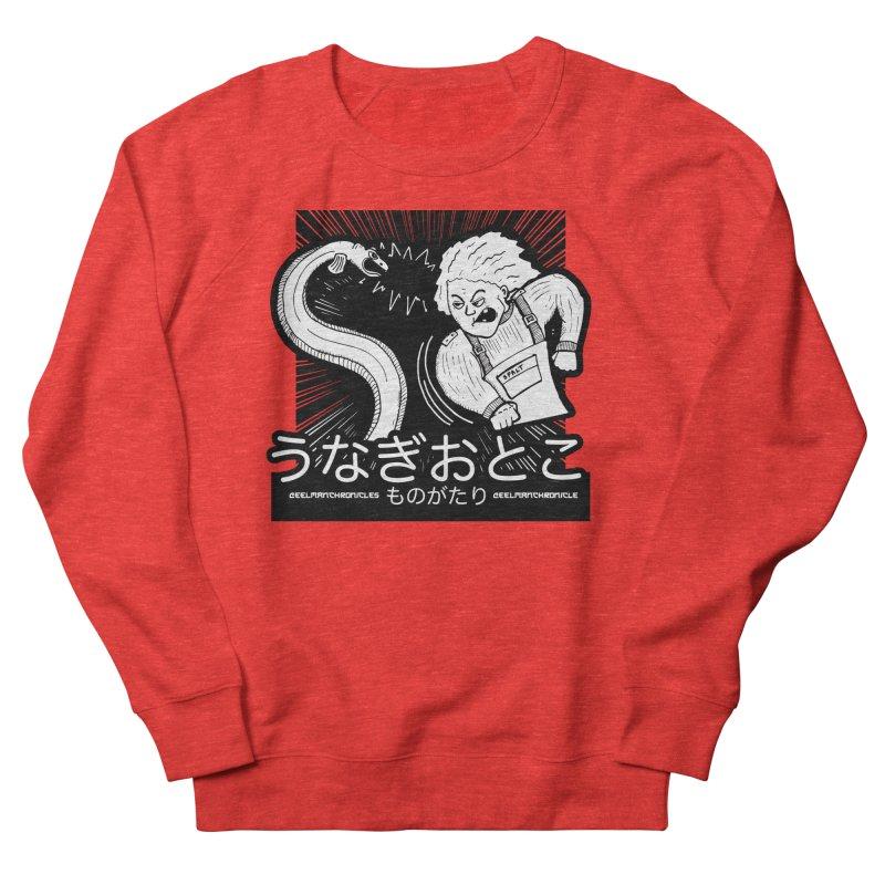 Official EELMANGA UNAGI design Men's Sweatshirt by EelmanChronicles's Artist Shop