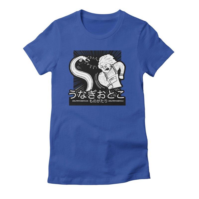 Official EELMANGA UNAGI design Women's T-Shirt by EelmanChronicles's Artist Shop