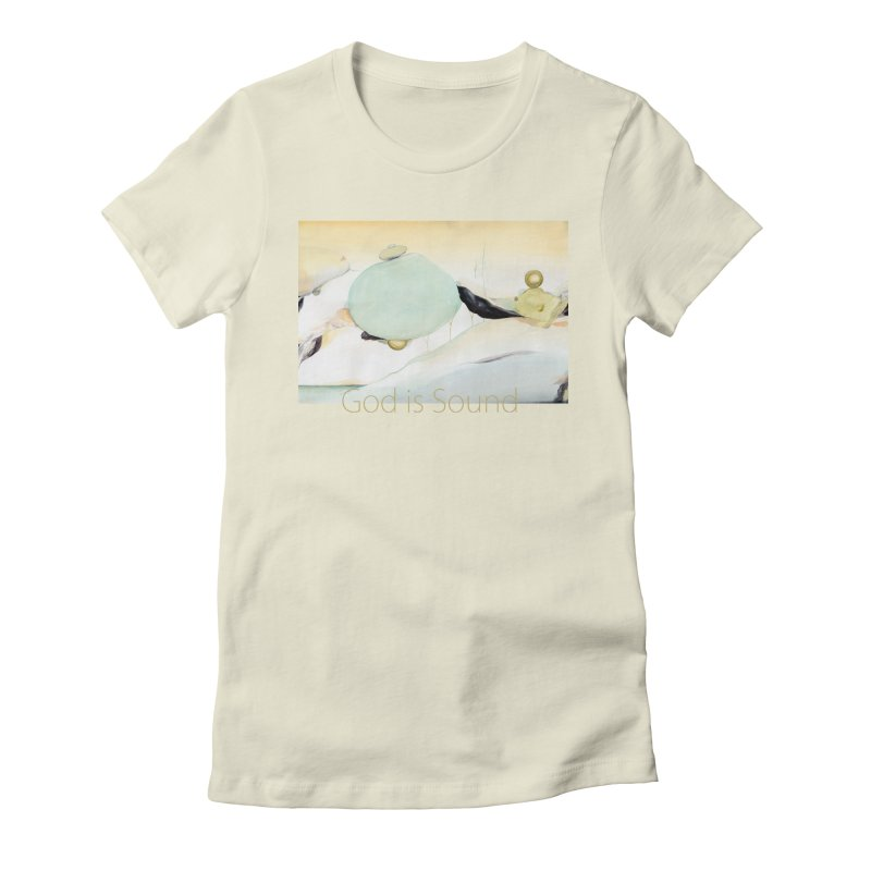 SHAPES ABD COLOURS Women's Fitted T-Shirt by Eika's Artist Shop