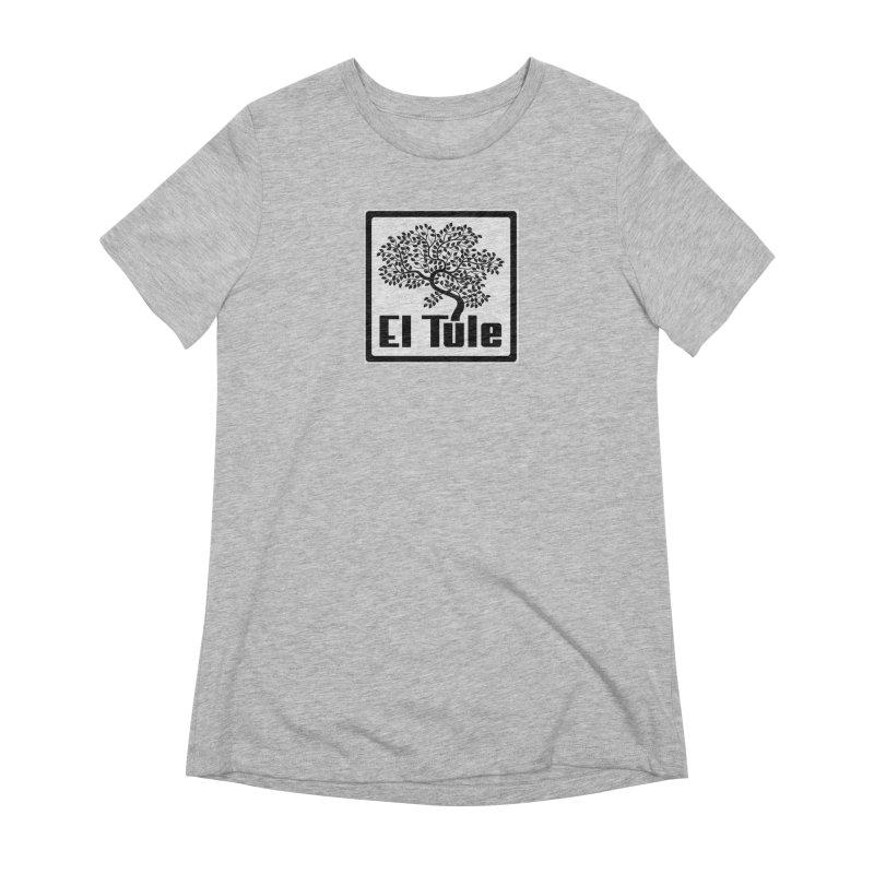 El Tule Logo T Shirt Women's Extra Soft T-Shirt by El Tule Store