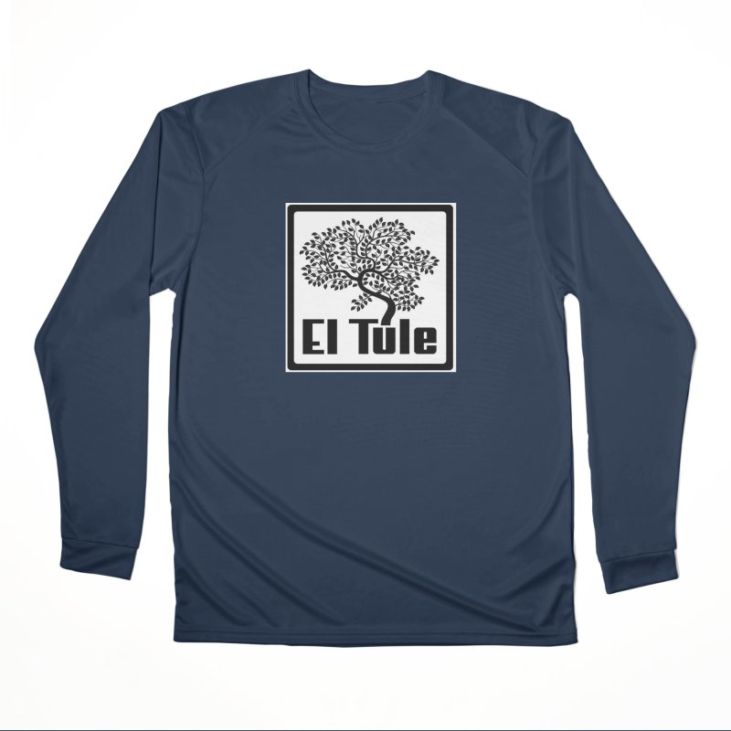 El Tule Logo T Shirt Men's Performance Longsleeve T-Shirt by El Tule Store