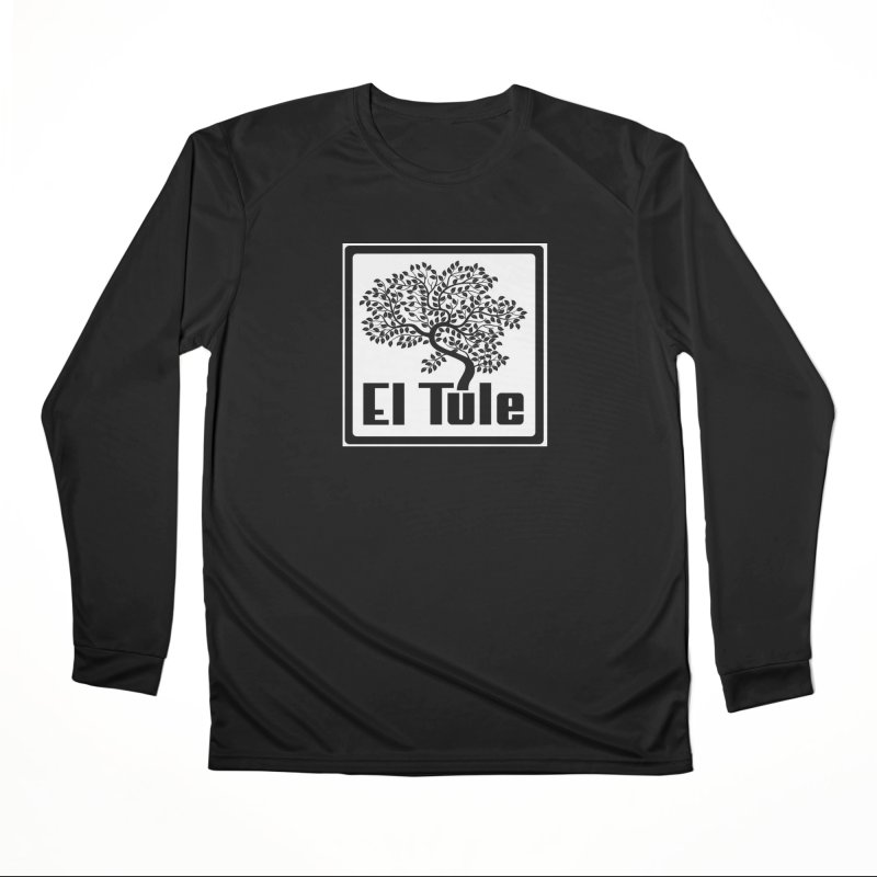El Tule Logo T Shirt Men's Performance Longsleeve T-Shirt by El Tule Store