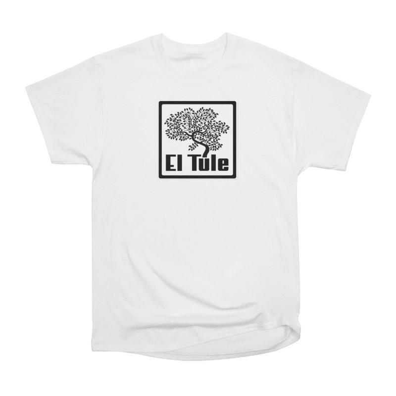 El Tule Logo T Shirt Women's Heavyweight Unisex T-Shirt by El Tule Store