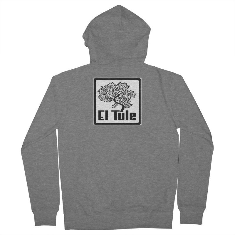 El Tule Logo T Shirt Men's French Terry Zip-Up Hoody by El Tule Store