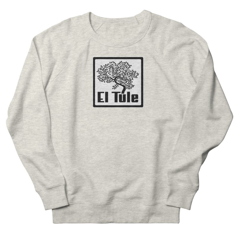 El Tule Logo T Shirt Men's French Terry Sweatshirt by El Tule Store
