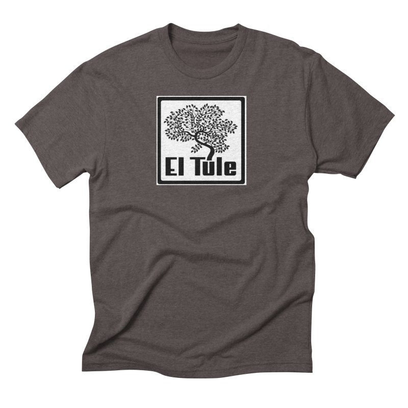 El Tule Logo T Shirt Men's Triblend T-Shirt by El Tule Store
