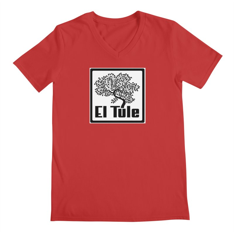 El Tule Logo T Shirt Men's Regular V-Neck by El Tule Store