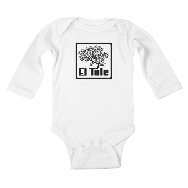El Tule Logo T Shirt Kids Baby Longsleeve Bodysuit by El Tule Store