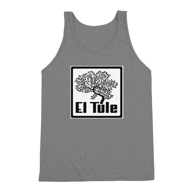 El Tule Logo T Shirt Men's Triblend Tank by El Tule Store