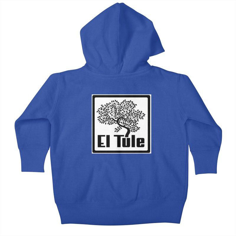 El Tule Logo T Shirt Kids Baby Zip-Up Hoody by El Tule Store