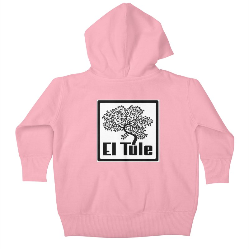El Tule Logo T Shirt Kids Baby Zip-Up Hoody by El Tule Store