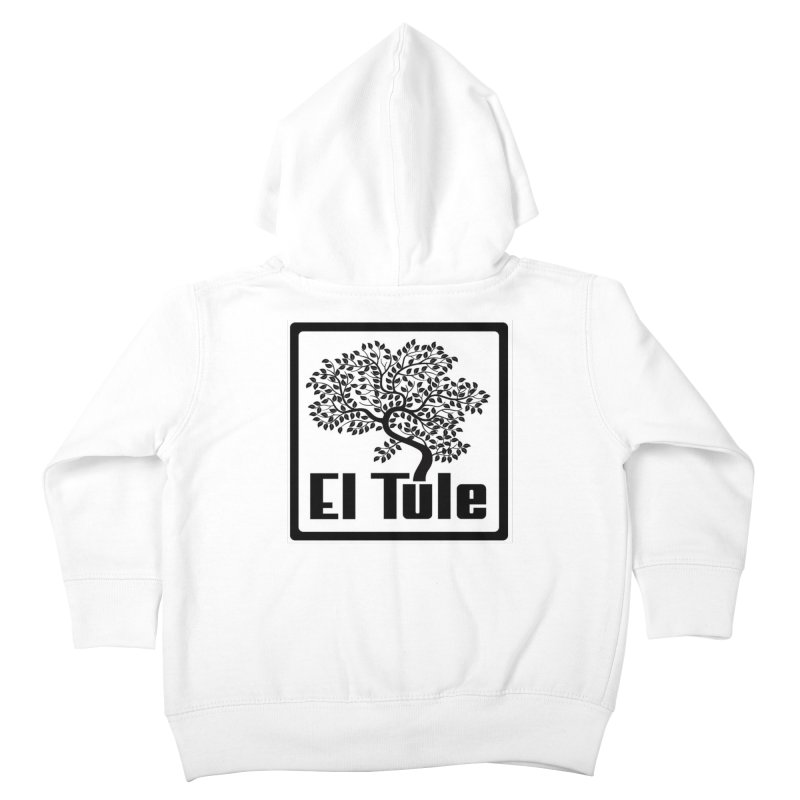 El Tule Logo T Shirt Kids Toddler Zip-Up Hoody by El Tule Store