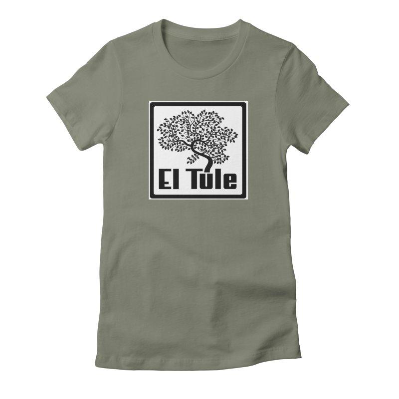 El Tule Logo T Shirt Women's Fitted T-Shirt by El Tule Store