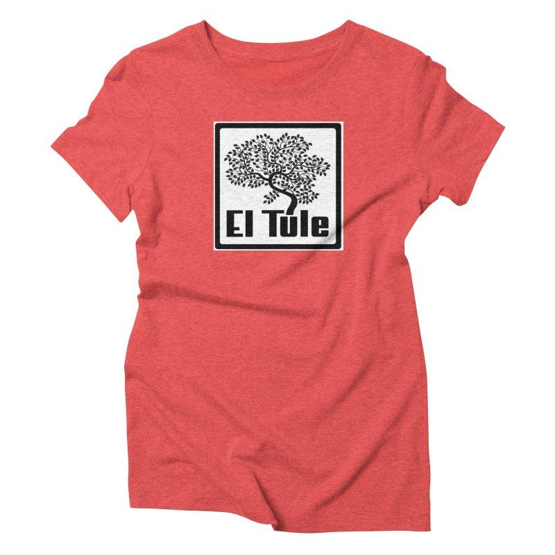 El Tule Logo T Shirt Women's Triblend T-Shirt by El Tule Store