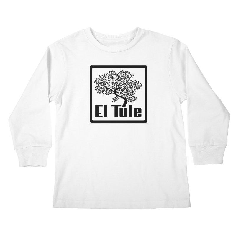 El Tule Logo T Shirt Kids Longsleeve T-Shirt by El Tule Store