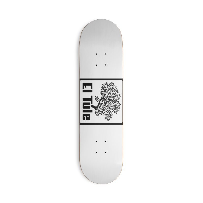 El Tule Logo T Shirt Accessories Deck Only Skateboard by El Tule Store