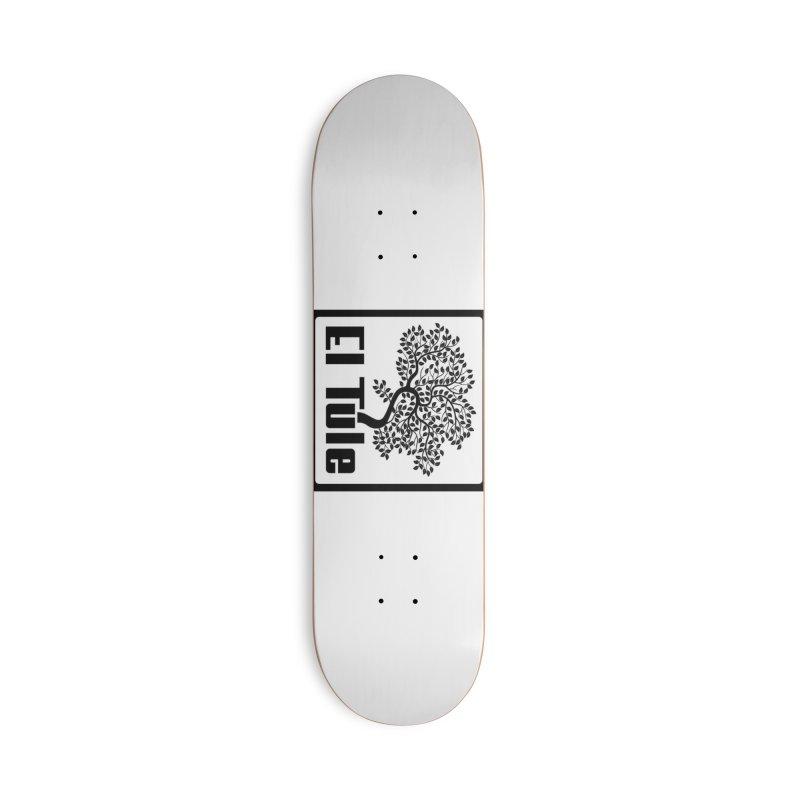 El Tule Logo T Shirt Accessories Skateboard by El Tule Store