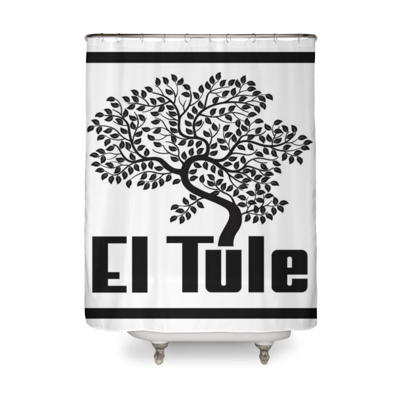 El Tule Logo T Shirt Home Shower Curtain by El Tule Store