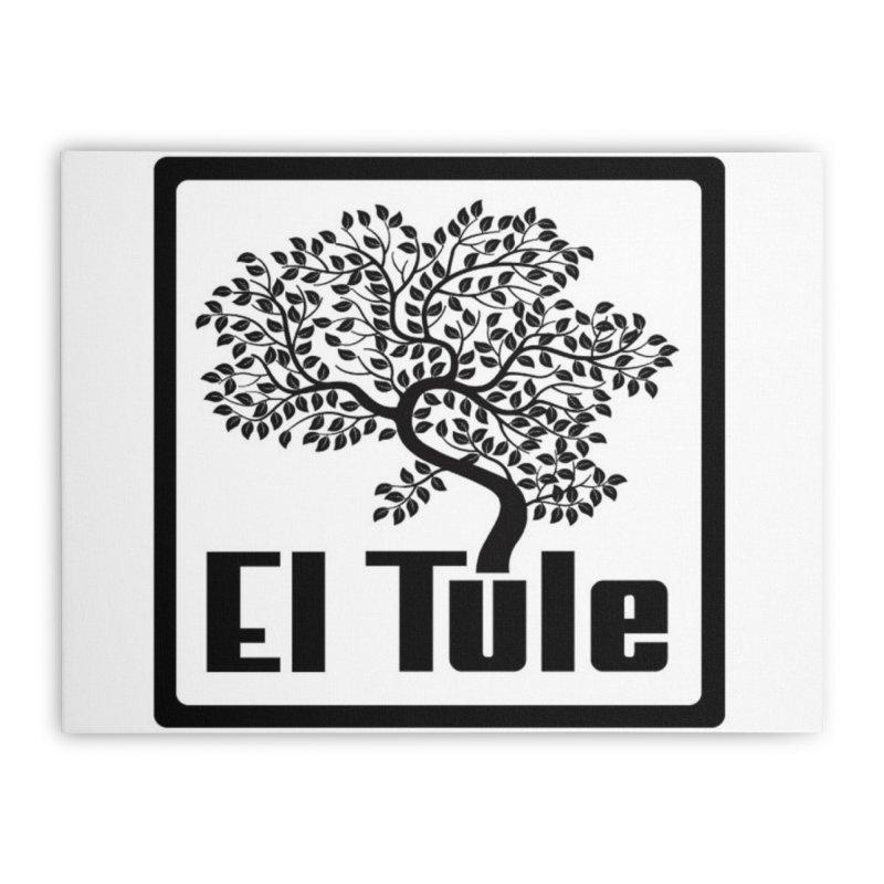 El Tule Logo T Shirt Home Stretched Canvas by El Tule Store