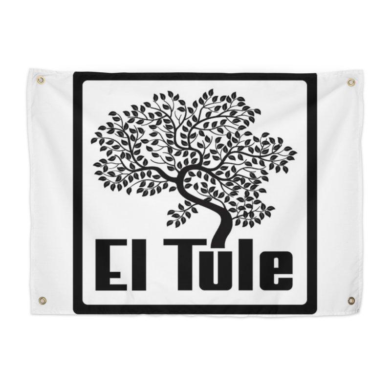 El Tule Logo T Shirt Home Tapestry by El Tule Store