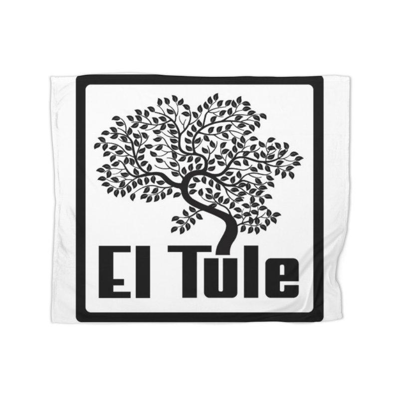 El Tule Logo T Shirt Home Fleece Blanket Blanket by El Tule Store