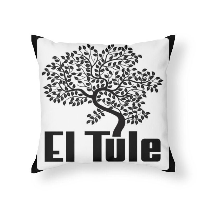 El Tule Logo T Shirt Home Throw Pillow by El Tule Store