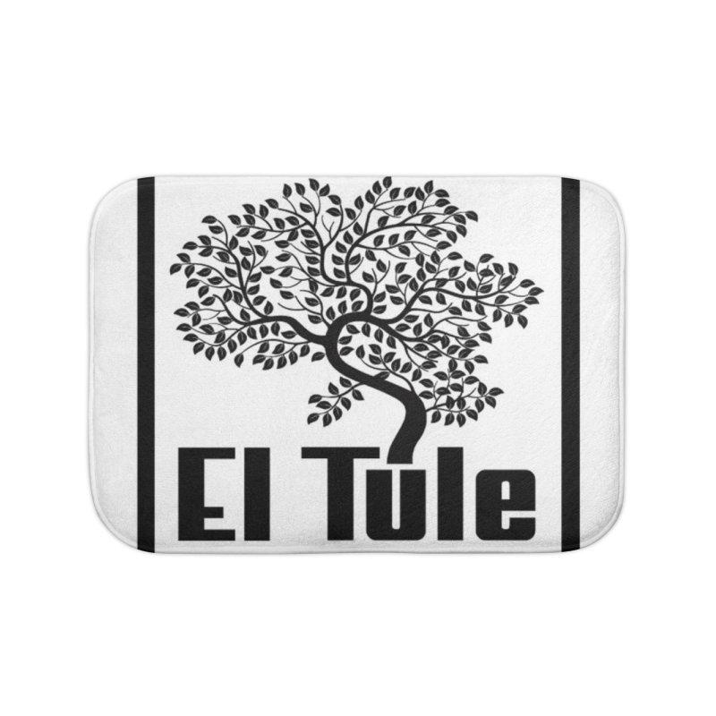 El Tule Logo T Shirt Home Bath Mat by El Tule Store