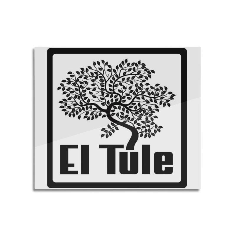 El Tule Logo T Shirt Home Mounted Aluminum Print by El Tule Store