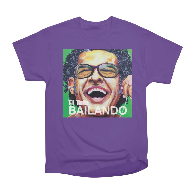"El Tule ""Bailando"" Album Cover Men's Heavyweight T-Shirt by El Tule Store"