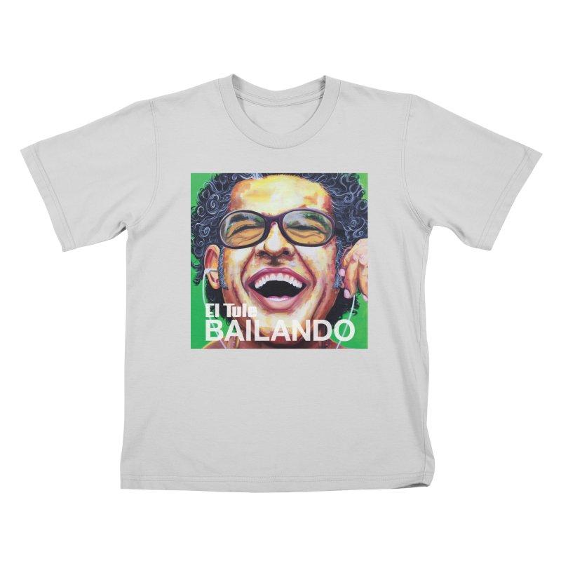 """El Tule """"Bailando"""" Album Cover Kids T-Shirt by El Tule Store"""