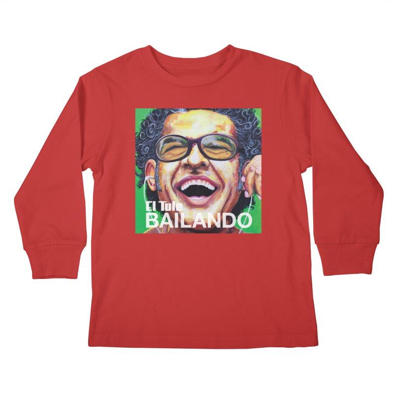 "El Tule ""Bailando"" Album Cover Kids Longsleeve T-Shirt by El Tule Store"