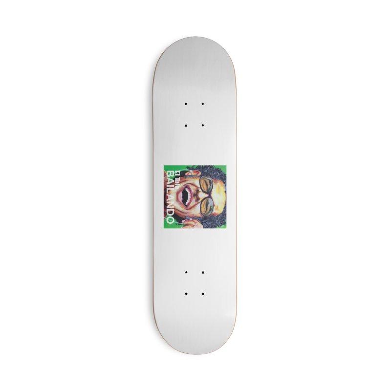 """El Tule """"Bailando"""" Album Cover Accessories Deck Only Skateboard by El Tule Store"""