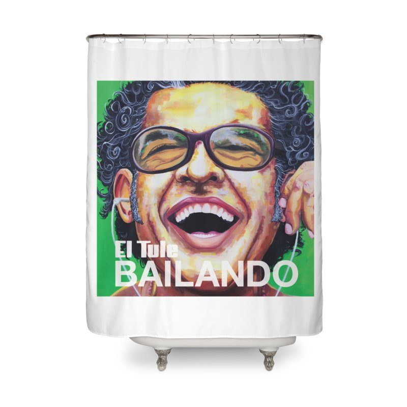 "El Tule ""Bailando"" Album Cover Home Shower Curtain by El Tule Store"