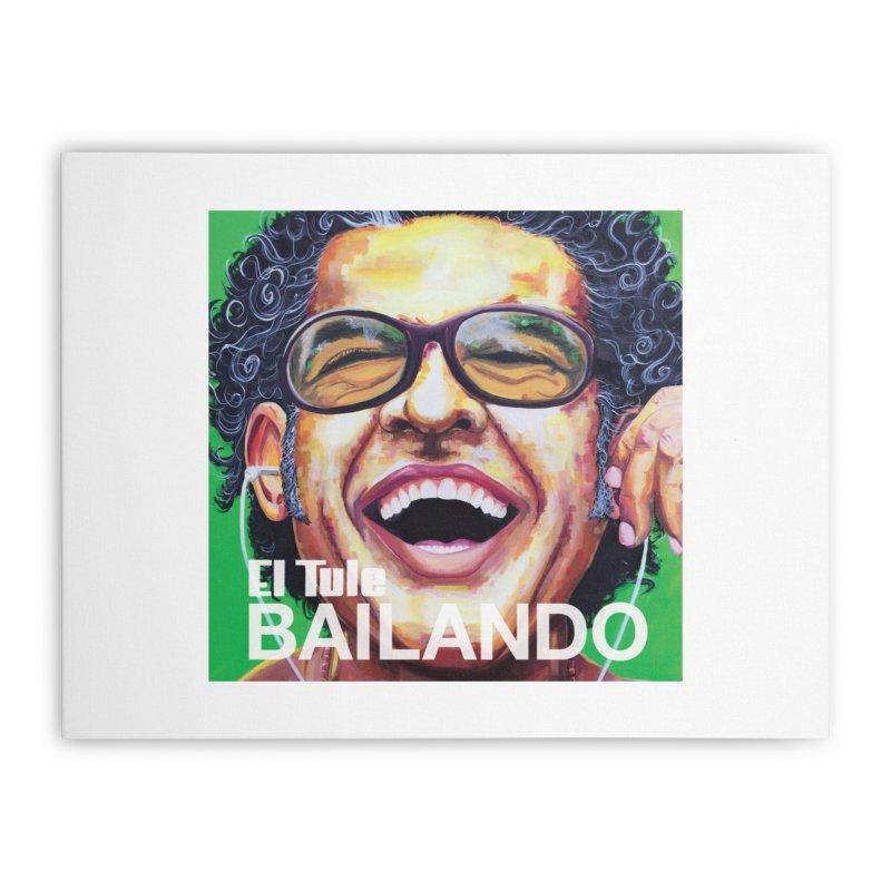 """El Tule """"Bailando"""" Album Cover Home Stretched Canvas by El Tule Store"""