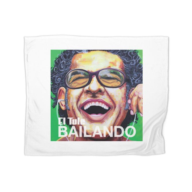 """El Tule """"Bailando"""" Album Cover Home Fleece Blanket Blanket by El Tule Store"""