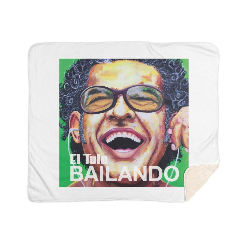"""El Tule """"Bailando"""" Album Cover Home Sherpa Blanket Blanket by El Tule Store"""