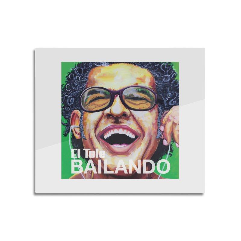 """El Tule """"Bailando"""" Album Cover Home Mounted Aluminum Print by El Tule Store"""